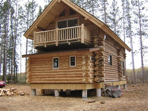 Pine Log Cabin by Pine Log Works Inc Photo Gallery