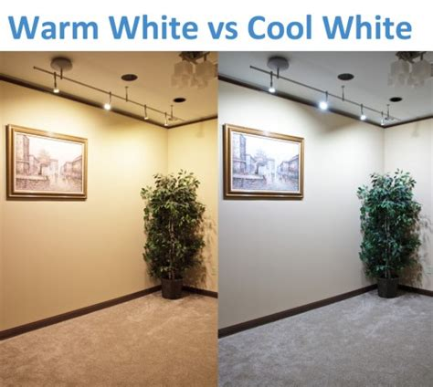 led lights warm white warm white vs cool white led lighting