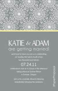 what do i need in a wedding invitation breathtaking modern wedding invitation wording