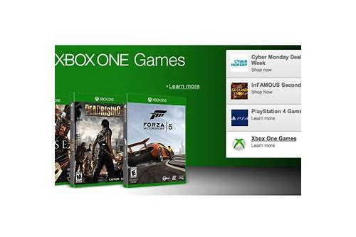 cyber monday video game deals xbox one