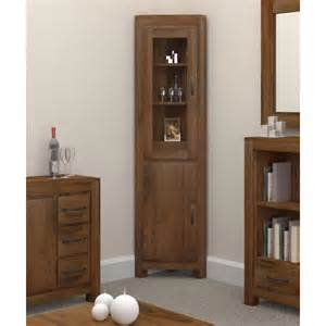Ivory Bookcase Corner Display Cabinet Glazed Glass Buy Online