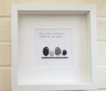 pebble pictures pebble family pebble art personalised