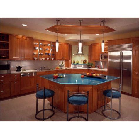 hexagonal island kitchen ideas pinterest kitchens