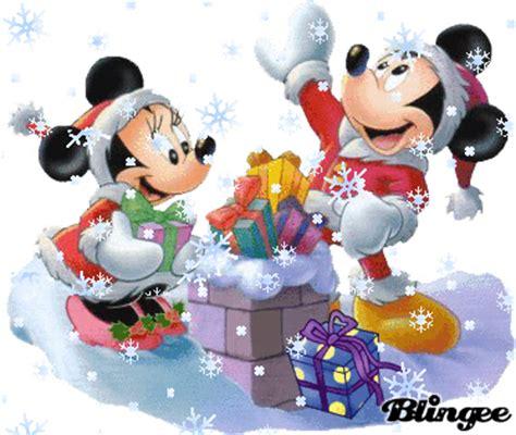 imagenes de navidad de mickey mouse navidad minnie y mickey fotograf 237 a 104350123 blingee com