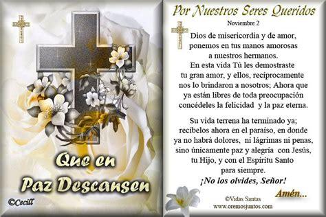 oracion para novenario de difuntos gifs religiosos fieles difuntos