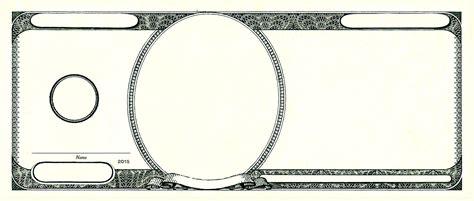 custom money template template money template