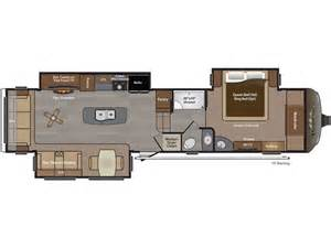 keystone fifth wheel floor plans 3582rl keystone montana 2016 5th wheel floor plan