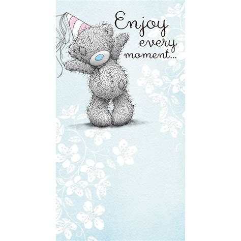 me to you birthday greetings cards selection tatty teddy bear card ebay - From Me To You Gift Card