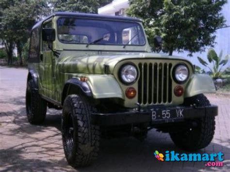 Lu Kota Mobil Jeep Cj7 jual jeep cj7 diesel laredo 81 mobil