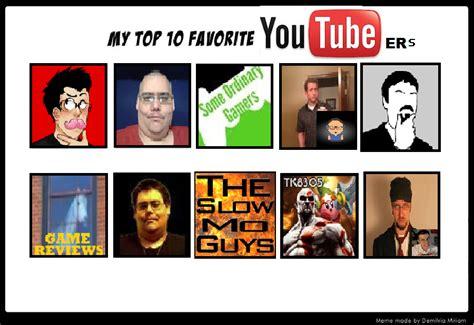 Youtuber Meme - top 10 youtuber meme by jonthecat by bowserfanfreak on