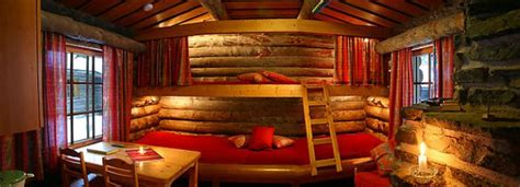 log cabin bunk beds double bunk bed luosto tunturi log cabin lapland the magazine