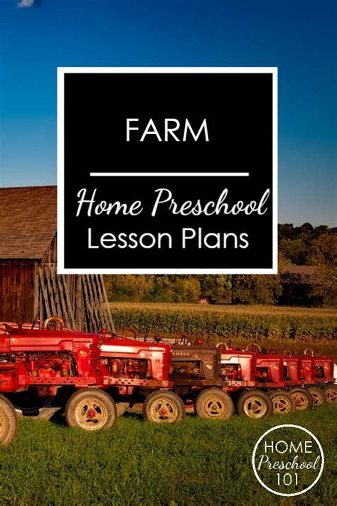 Farm Theme Home Preschool Lesson Farm Theme Home Preschool Lesson Plan Home Preschool 101