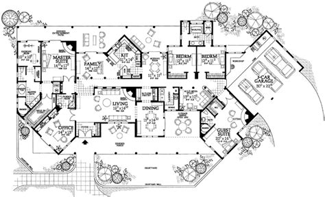 Santa Fe Style House Plans by Santa Fe House Designs Home Design And Style
