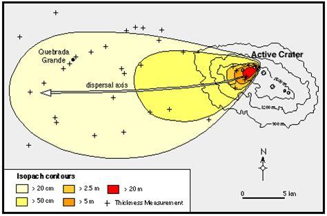 isopach map map analysis july 2013