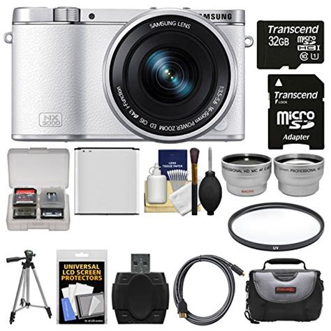 Flash Kamera Samsung Nx3000 samsung nx3000 smart wi fi digital with 16 50mm lens flash white with 32gb card