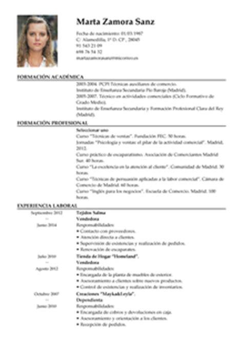 Plantilla Curriculum Empleada De Hogar Modelo De Curr 237 Culum V 237 Tae Vendedor Vendedor Cv Plantilla Livecareer