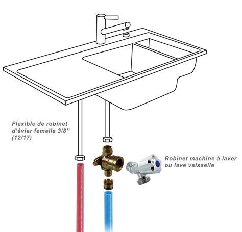 raccord robinet evier applique machine 224 laver duo per 224 glissement 216 16