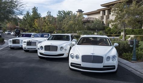 Floyd Mayweather S All White Car Collection Is