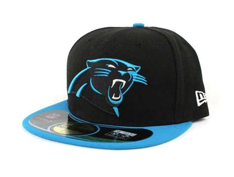 panthers colors nfl carolina panthers nfl new era 59fifty fitted hat team