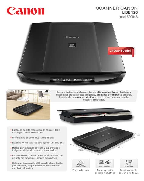 Canon Scanner Lide 120 scanner canon lide 120 districomp