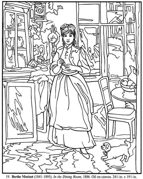 coloring book artist welcome to dover publications