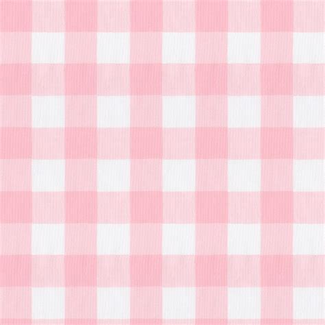 Large pink gingham fabric by the yard pink fabric carousel designs