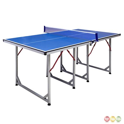 Folding 6 Foot Table Reflex Blue 6 Ft Folding Table Tennis Table With Steel Frame