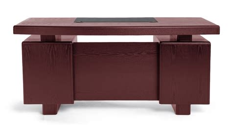 dark wood modern desk monroe mahogany wood modern desk with leather pad and