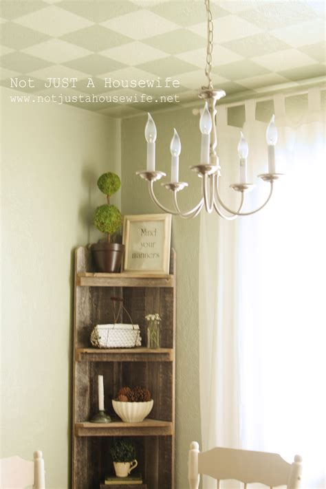Corner Shelf For Dining Room by Dining Room Update Country Not Just A