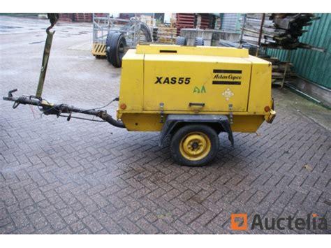 mobile air compressor mobile air compressor atlas copco xas 55
