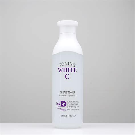 Etude Toning White C etude house toning white c clear toner review