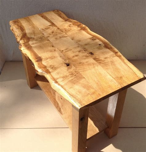Live Edge Furniture by Live Edge Table Oak Coffee Table Waney Edge Coffee Table