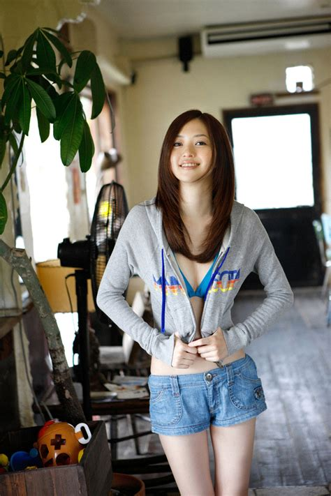 Rina Aizawa Cute Japanese Teen In Bikini Boobs And Cuffs