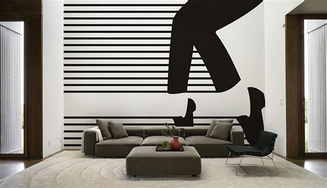 modern living room wall decal decoist