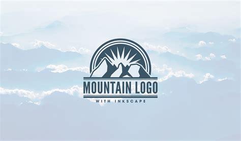 vector logo tutorial inkscape inkscape tutorial mountain logo design logos by nick