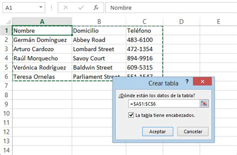 como hacer layout en excel c 243 mo crear tablas en excel 2013 excel total