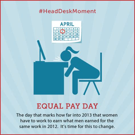 equal pay day show the momsrising org