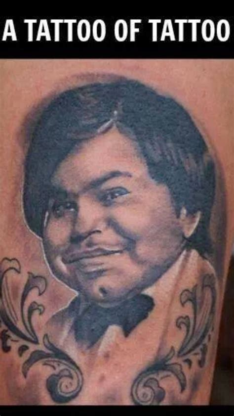 a tattoo of tattoo lol from the 80 s tv show