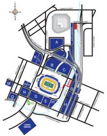 bank of america stadium parking map america map