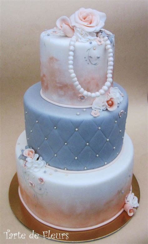 Pearl wedding 30th anniversary   ~JANERIC~   Cake, 30th