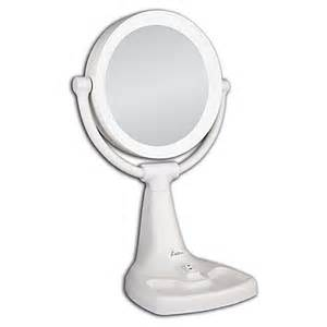 Zadro Oversized Vanity Mirror Zadro 1x 10x Magnifying Max Bright Sunlight Vanity Mirror