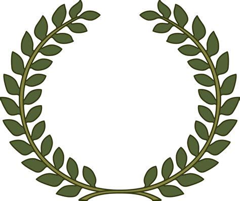 clipart laurel wreath laurel leaf