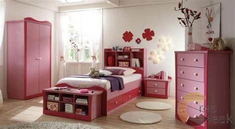 Kasur Bayi Berkarakter set kamar anak perempuan warna pink createak furniture