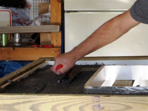 Best Concrete Mix For Countertops by How To Make A Concrete Countertop How Tos Diy