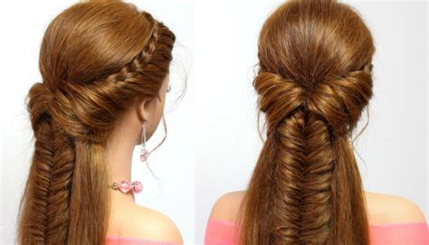 hairstyles for long hair updos with braid braided hairstyle for everyday medium long hair tutorial