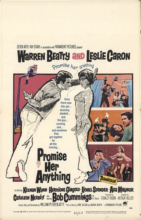 film promise her anything promise her anything 1966 original movie poster fff 34110