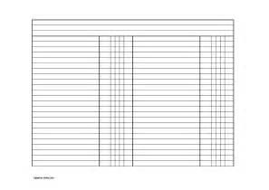 Blank Balance Sheet Template by Blank Balance Sheet Template Templatezet