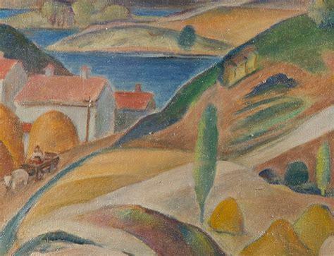 Landscape Paintings Realism Social Realism Rural Landscape Painting By Louis P
