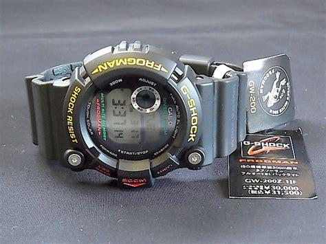 Jam Tali Jam Casio Gshock Frogman Gw 200 Gw 200 Gw200 new casio g shock gw 200 frogman 4th edition