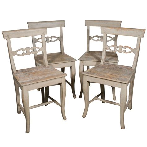 Swedish Dining Room Furniture swedish dining chairs at 1stdibs